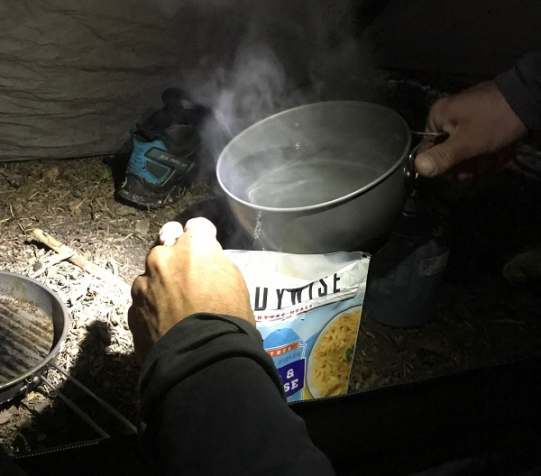 Backpacking Camp Food