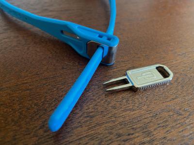 Hiplok Z Lok key