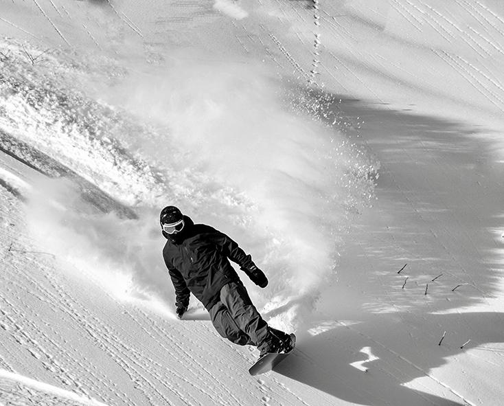 Spenser Johnson Alaska Snowboading