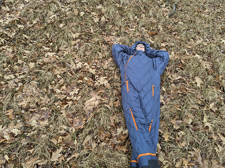 Sleeping Bag for the Ground