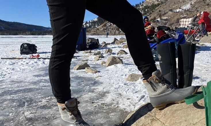 Women's Sperry Wool Boots