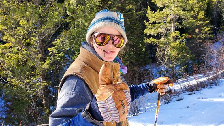 Women in Ski Touring Ski Glasses Airblaster