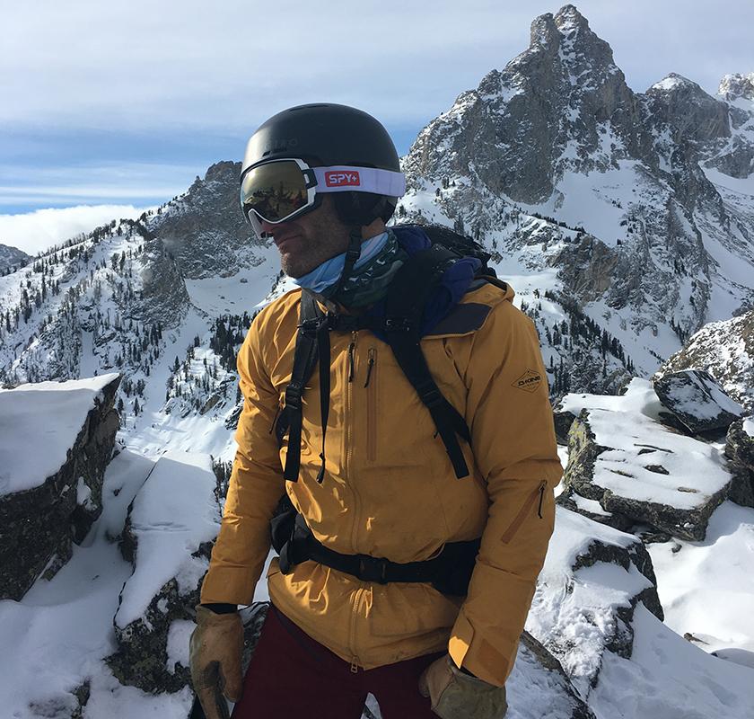 Grand Teton Snowboarding