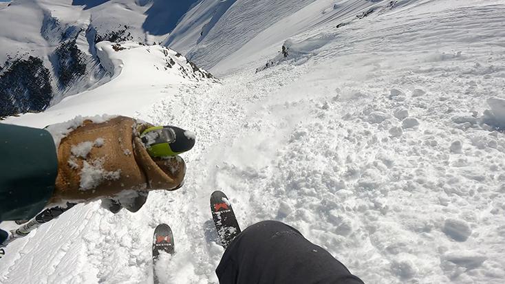 Skiing Silverton