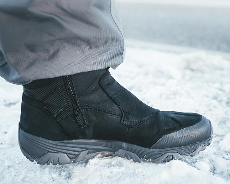 Boots on Ice