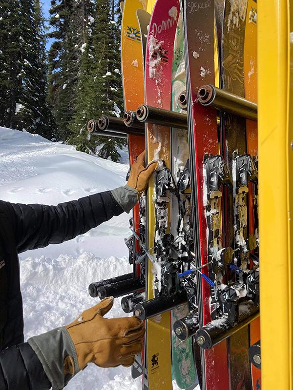Snowcat Skiing Driver