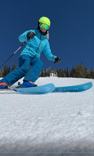 Skiing Jackson Hole Women