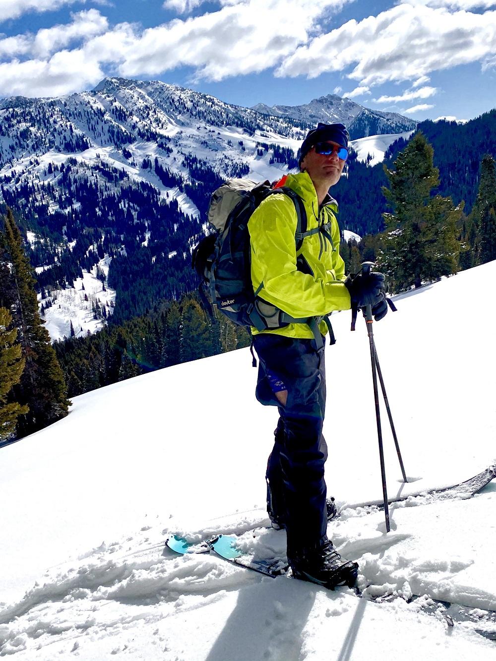 Costa Del Mar Reefton Sunglasses Test Skiing in Teton Mountains
