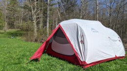 MSR Tent Test - Mutha Hubba 3 Person Tent from MSR
