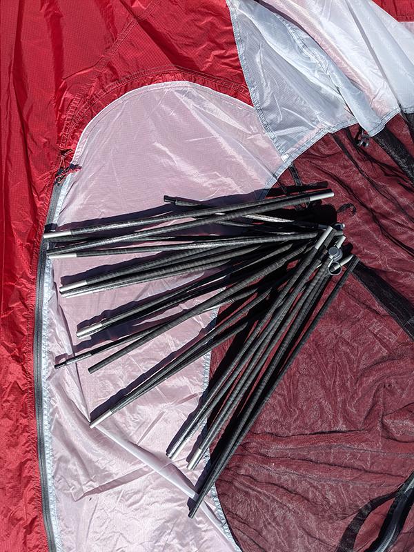 Tent Camping Poles