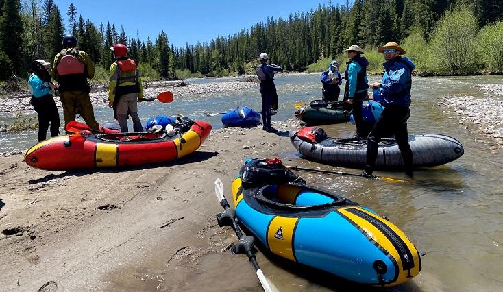 Alpacka Expedition Packraft