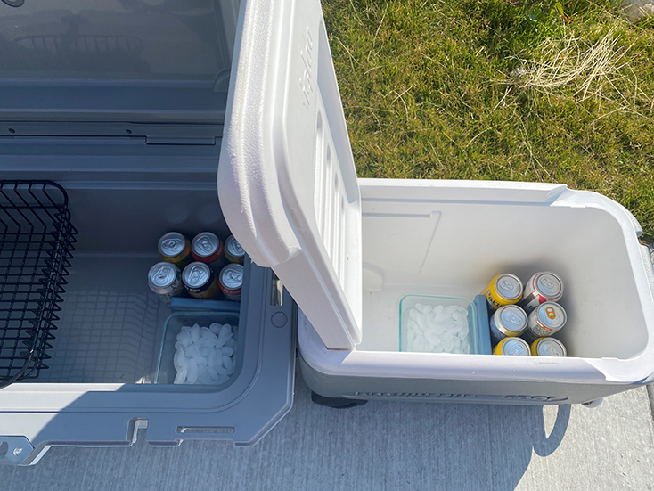 Cooler Ice Test