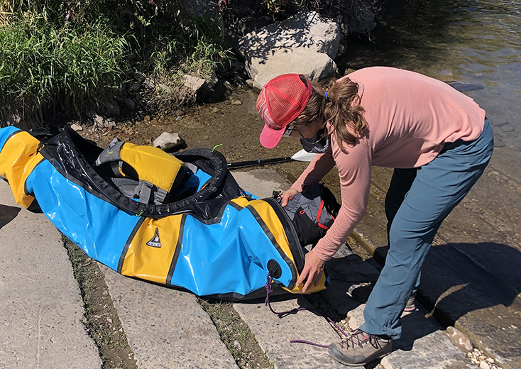 Packing a Packraft